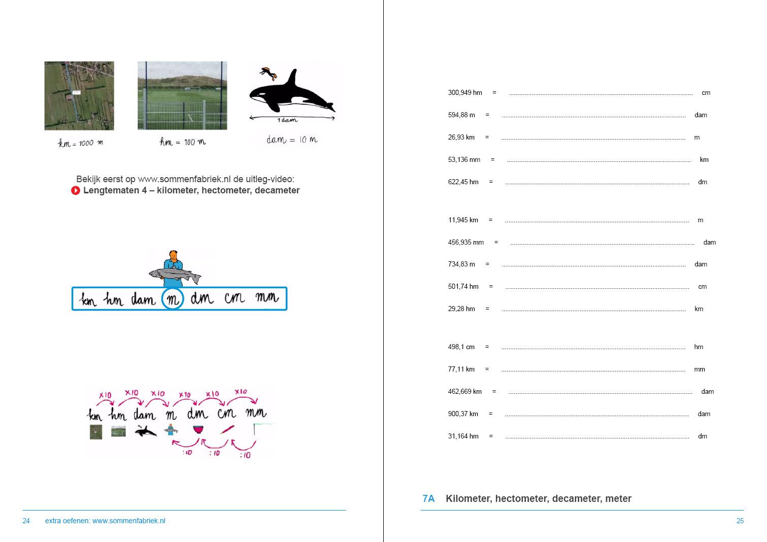 leerwerkboek metrieke stelsel groep 8