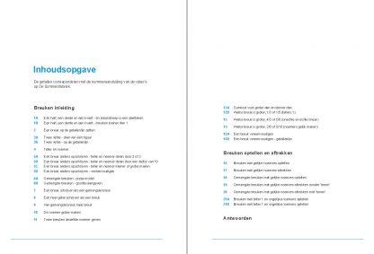 inhoudsopgave werkboek breuken groep 6