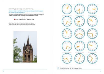 17-hoe laat is het op de analoge klok